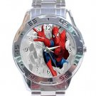 Amazing Spider-man 3D Stainless Steel Analogue Watch