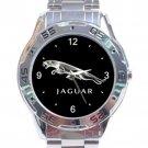 Jaguar Silver Logo Stainless Steel Analogue Watch
