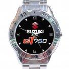 Suzuki GT750 Logo Stainless Steel Analogue Watch