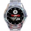 Yamaha XS650 Motorcycle Logo Stainless Steel Analogue Watch