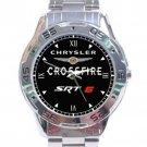 Chrysler Crossfire SRT-6 Car Logo Stainless Steel Analogue Watch