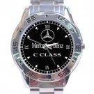 Mercedes Benz C Class Stainless Steel Analogue Watch