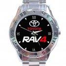 Toyota RAV4 Car Logo Stainless Steel Analogue Watch