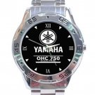 Yamaha OHC 750 Logo Stainless Steel Analogue Watch