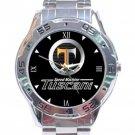 HYUNDAI TUSCANI SPEED MACHINE Car Logo Stainless Steel Analogue Watch