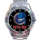 Star Trek NX-01 Logo Stainless Steel Analogue Watch
