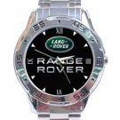 Range Rover Logo Stainless Steel Analogue Watch