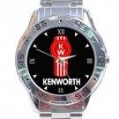 Kenworth Truck Logo Stainless Steel Analogue Watch