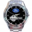 Ford King Range F150 Logo Stainless Steel Analogue Watch