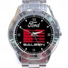 Ford Saleen Logo Stainless Steel Analogue Watch