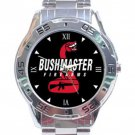 Bushmaster Firearms Logo Stainless Steel Analogue Watch