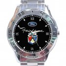 Ford Fairlane Logo Stainless Steel Analogue Watch