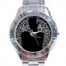 Jame Bond Stainless Steel Analogue Watch