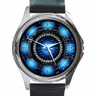 Iron Man Arc Reactor Unisex Round Silver Metal Watch
