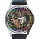 The Jungle Book Unisex Round Silver Metal Watch
