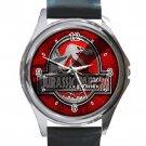 Jurassic Park 3 Unisex Round Silver Metal Watch
