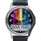 Star Trek Motion Picture Unisex Round Silver Metal Watch