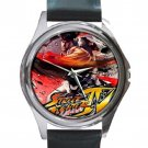 Street Fighter IV By Kraytos Unisex Round Silver Metal Watch