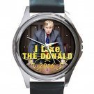 I Like The Donald 2016 Unisex Round Silver Metal Watch