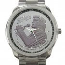 Elvis Presley The Man The Music The Legend Unisex Sport Metal Watch