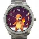 Pokemon Go Charmander Unisex Sport Metal Watch