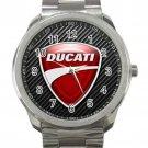 Ducati Motor Logo Unisex Sport Metal Watch
