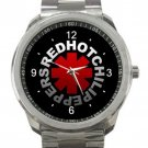 Red Hot Chilli Peppers Logo Unisex Sport Metal Watch