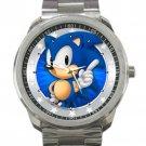 Sonic the hedgehog 50th Anniversary Unisex Sport Metal Watch