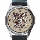 ALICE IN WONDERLAND CARNIVALE STYLE Unisex Round Silver Metal Watch