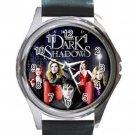 Dark Shadows Johnny Depp Film Unisex Round Silver Metal Watch