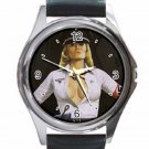 DYANNE THORNE ILSA SHE WOLF OF THE SS Unisex Round Silver Metal Watch