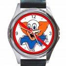 NO BOZOS Unisex Round Silver Metal Watch