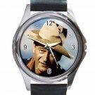 JOHN WAYNE RIO BRAVO Unisex Round Silver Metal Watch