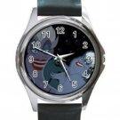 Little Mermaid Ursula Unisex Round Silver Metal Watch
