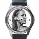 URSULA ANDRESS JAMES BOND DR. NO Unisex Round Silver Metal Watch