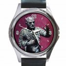 AURORA MONSTER MODEL THE MUMMY Unisex Round Silver Metal Watch