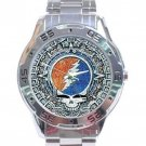 Grateful Dead - Steal Your Face - Aztec Stainless Steel Analogue Watch