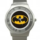 Batman Shield - Chrome Roman Dial Unisex Ultra Slim Watch