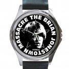 Brian Jonestown Massacre Unisex Round Silver Metal Watch
