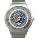 Grateful Dead - Aztec - Steal Your Face - Chrome Roman Dial Unisex Ultra Slim Watch
