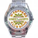 Beatles - Sgt. Pepper's Lonely Hearts Club Band Stainless Steel Analogue Watch