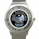 USCSS Nostromo - Chrome Roman Dial Unisex Ultra Slim Watch