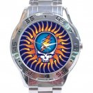 Grateful Dead - Steal Your Face - Sun Stainless Steel Analogue Watch