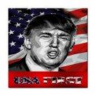 Donald Trump USA First Ceramic Tile Coaster