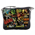 Frankenstein, Dracular & Monsters Unisex School Messenger Bag Shoulder Notebook Travel Bags