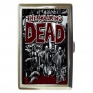 The Walking Dead High Quality Silver Chrome Cigarette Money/ Credit Card Case