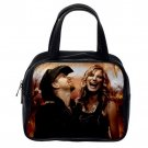 Sugarland Musical Duo Unisex Genuine Leather Classic Handbag Purse