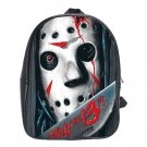 Friday The 13th Jason School Leather Backpacks Notebook Bags-XL