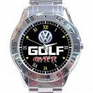 Volkswagon Golf GTI Logo Stainless Steel Analogue Watch