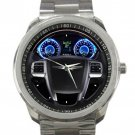2012 Chrysler Steering Wheel Unisex Sport Metal Watch